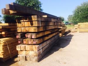 Sunny day square edge cut oak