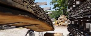 Moving oak pile