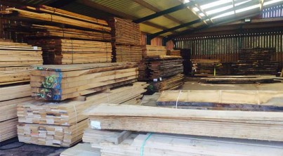oak-beam-piles